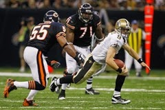bears vs saints