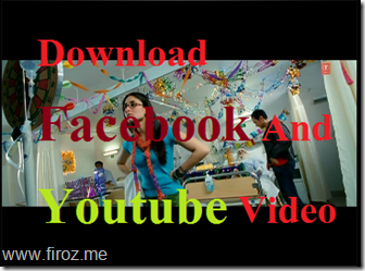 Download Facebook Youtube video