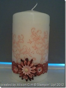 Creative Elements candle