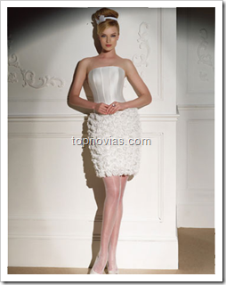 Vestidos de Novia cortos para Boda