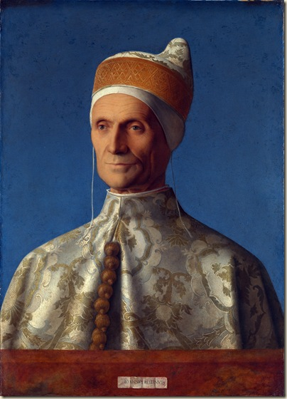 Giovanni Bellini, Portrait Leonardo Loredan
