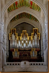 madrid cathedral organ