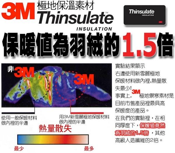 ThinsulateTM 800