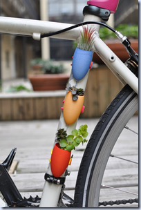 Mobile Bike Planter