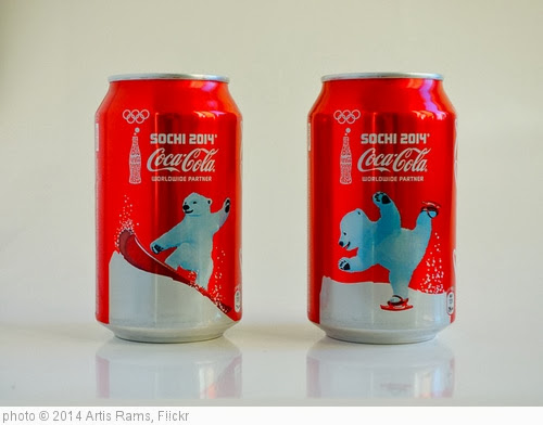 'Sochi 2014 Coca-Cola' photo (c) 2014, Artis Rams - license: http://creativecommons.org/licenses/by-nd/2.0/