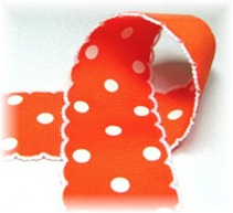 moonstitch orange polks