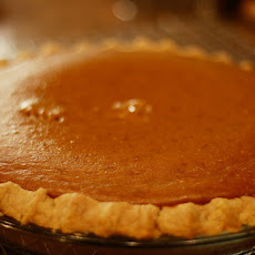 Vegan Low-Fat Low-Sugar Pumpkin Pie