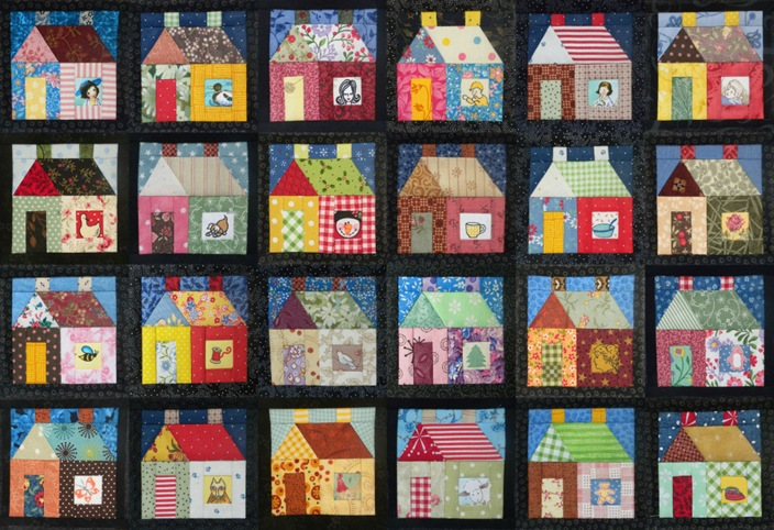 24 houses finished