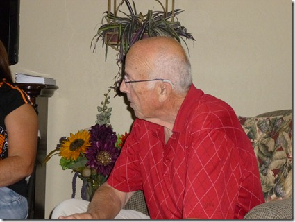 Bible study leader, Gary Cyphers