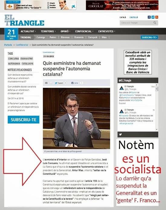 socialista suspendre la Generalitat