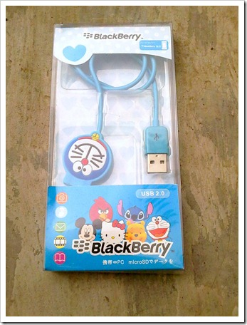 Kabel USB Blackberry Doraemon