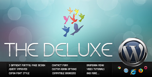 The Deluxe Business & Portfolio & Blog WordPress - Business Corporate