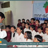 Oral Hygiene Education @ Mehdipatnam Branch