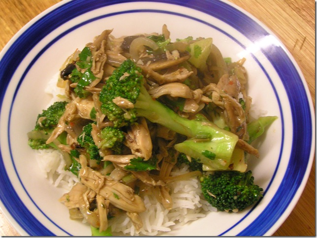 3 chicken stir-fry