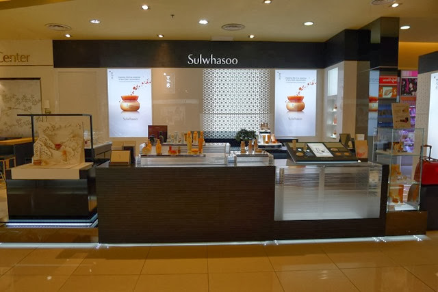 Sulwhasoo Parkson 1U Counter (2)