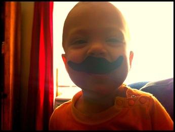 mustache Eli