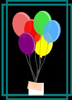 imagen globos y carta con recuadro2