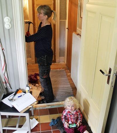 Småbarn o husrenovering