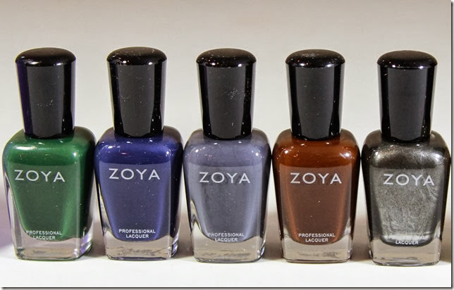 Zoya Polishes 1