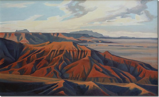 Afternoon Light, Painted Desert-Ed-Mell-Enkaustikos