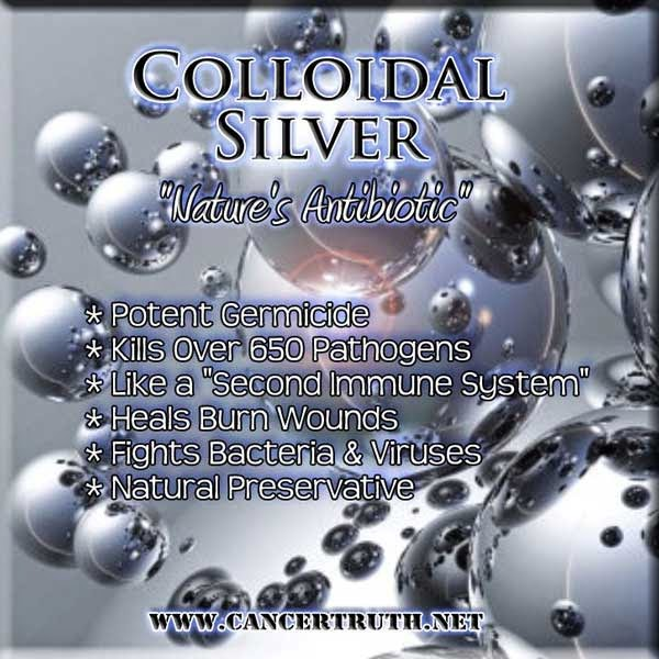 Colloidal silver treatment for cats