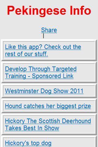 Pekingese Dog info