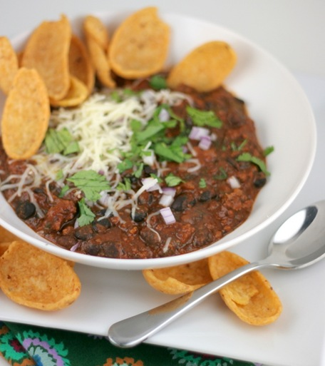 beef and black bean chili 2