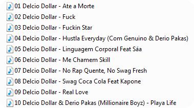 Delcio Dollar - Mixtape Fenix Vol.1 (TrackList)
