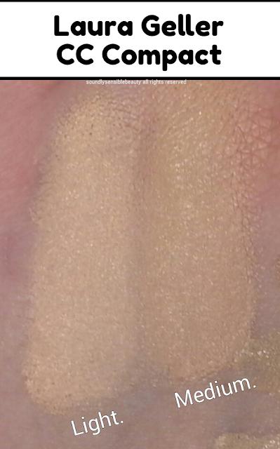 Laura Geller CC Cream Compact; Light Medium