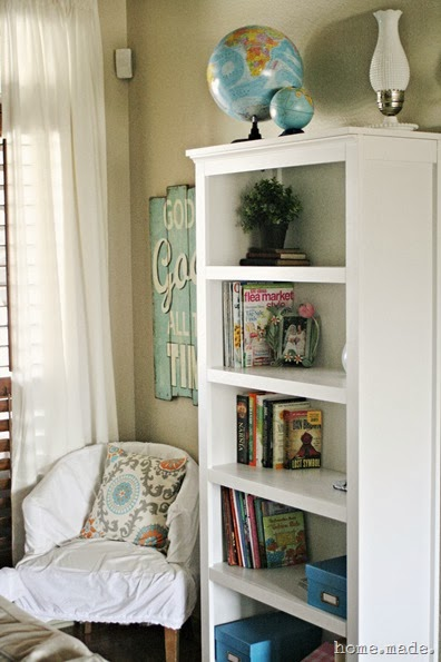 Corner Reading Nook home.made.