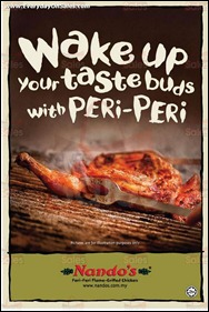 Nandos Peri-Peri Free Voucher Promotion 2013 Branded Shopping Save Money EverydayOnSales