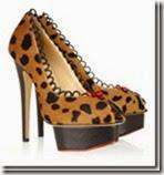 Charlotte Olympia Leopard Print Platform Pump