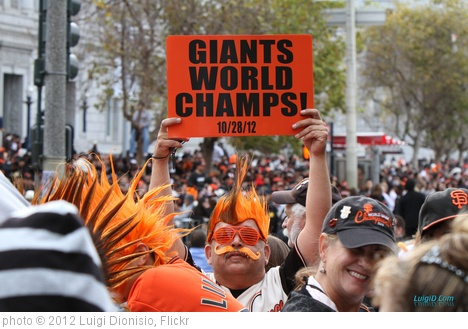 'Giants World Champs Sign 2012' photo (c) 2012, Luigi Dionisio - license: http://creativecommons.org/licenses/by-nd/2.0/
