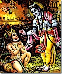 [Hanuman meeting Rama]