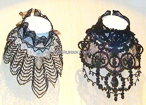 Anne  Fontaine Jewelled Handcrafted  Collars luxury craftsmanship exquisite necklaces precious capsule white shirt Spring Summer