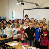WBFJ Cici's Pizza Pledge - Morgan Elementary - Mrs. Rosenberger's 3rd Grade Class - Clemmons - 11-28