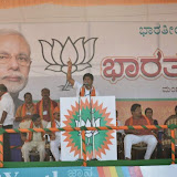 With Narendra Modi in Bharat Vijay Rally