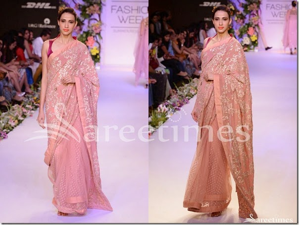 Shyamal_and_Bhumika_Pink_Embellished_Saree