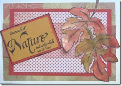 AAWA Oct. 11 make n take leaves card
