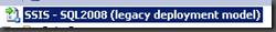 Integration Services legacy deployment model