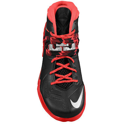 nike zoom soldier 7 gr black red 1 03 eastbay LEBRONs Nike Zoom Soldier VII $135 Pack Available at Eastbay