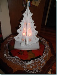 White tree display 2