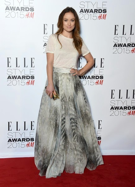 Olivia Wilde attends the Elle Style Awards 2015
