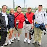The race walk judges. Gary Westerfield, Maryanne Daniel, Bill Pollinger, Joe Light and Ron Daniel.