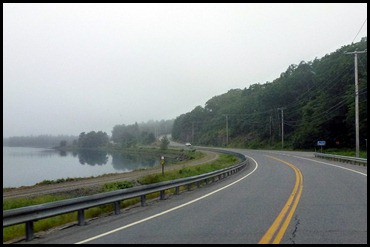 1c - Travel to Trenton - Rt 1 a little foggy but pretty