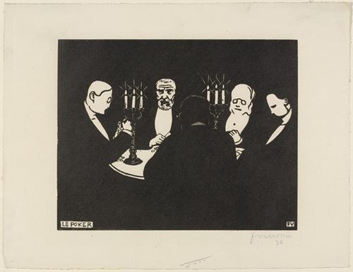 felix valloton poker 1896