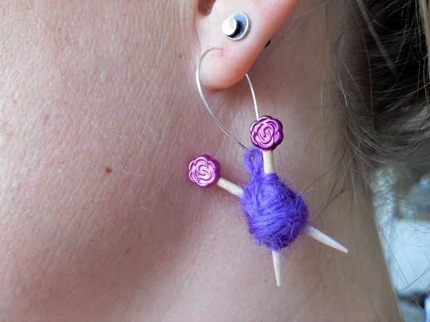 strikketøj i ørene