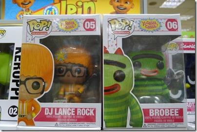 Funko Pop! TV Vinyl Yo Gabba Gabba! DJ Lance Rock & Brobee