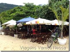Ilha Grande RJ Vila do Abrão - Bar