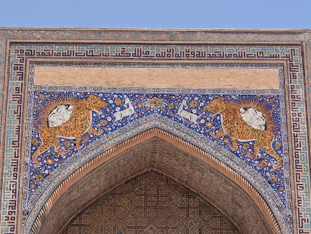 16. Leii de pe medresa din Samarkand.JPG